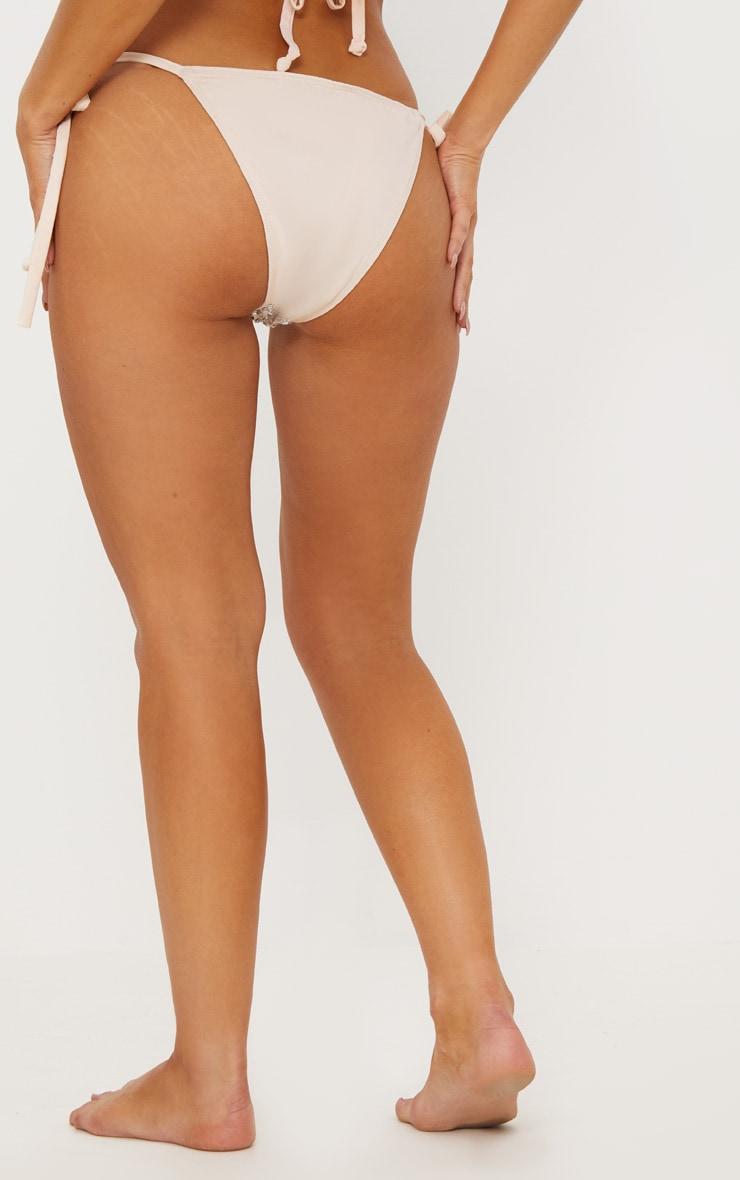 Premium - Bas de maillot nude à pierres fantaisie 5