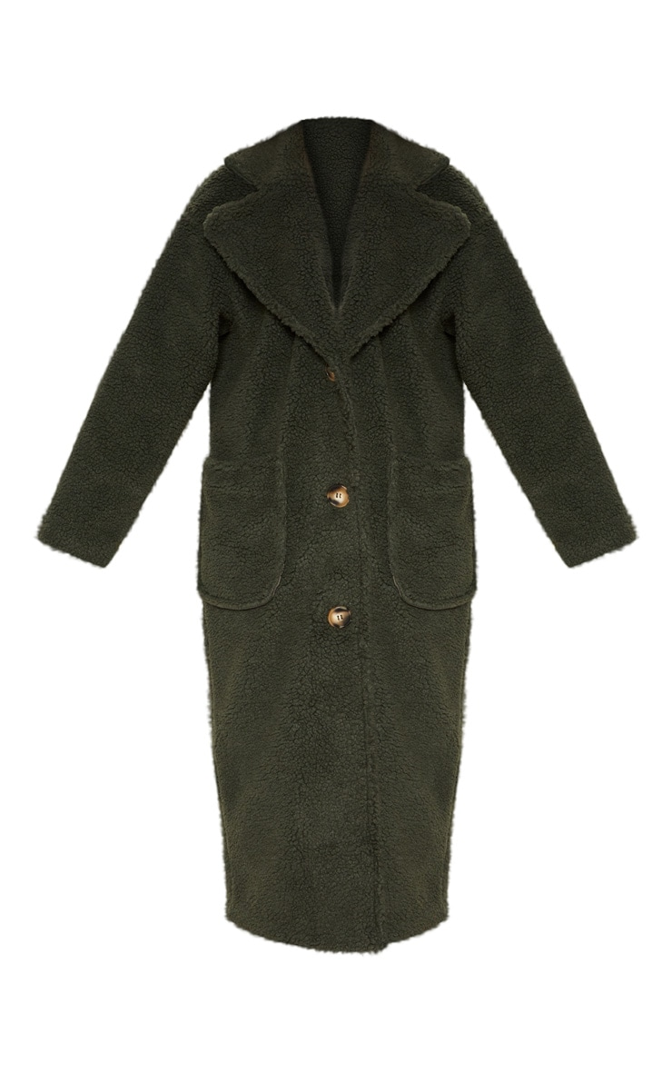 Green Borg Longline Coat  3