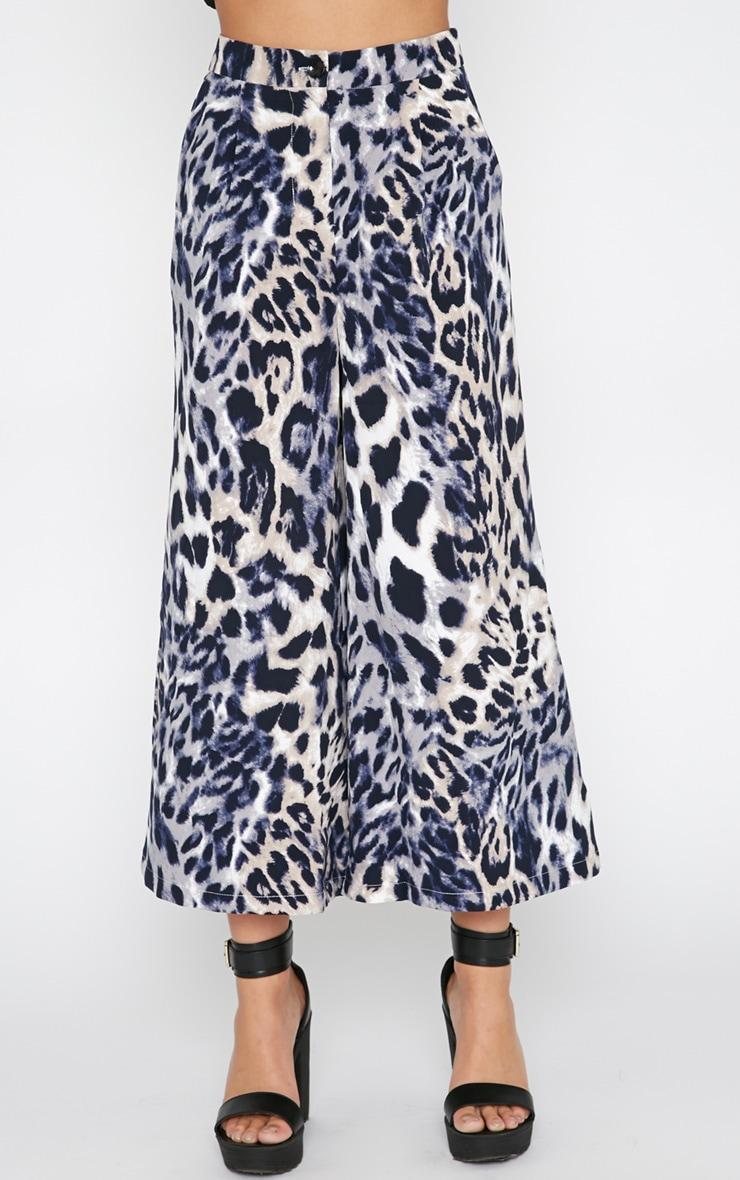 Jaidyn Blue Leopard Culottes 6