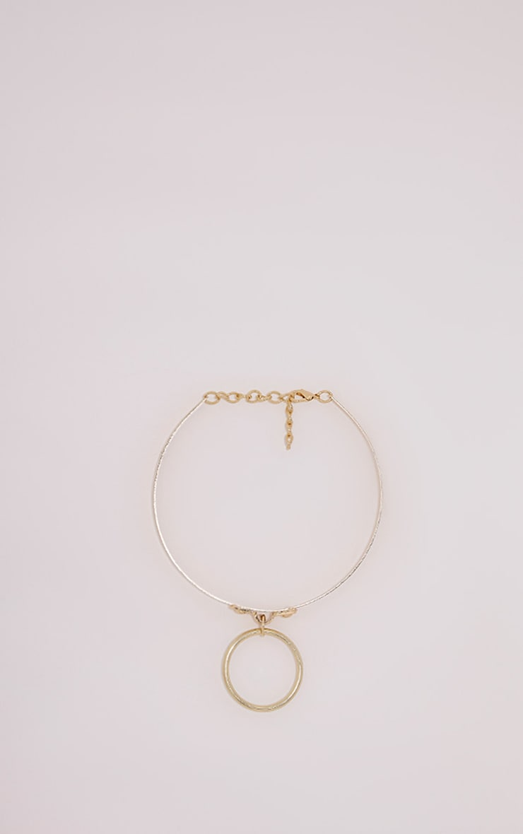 Kenni Gold Metal Choker 3
