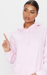 Baby Pink Steal His Graphic Hoodie 6