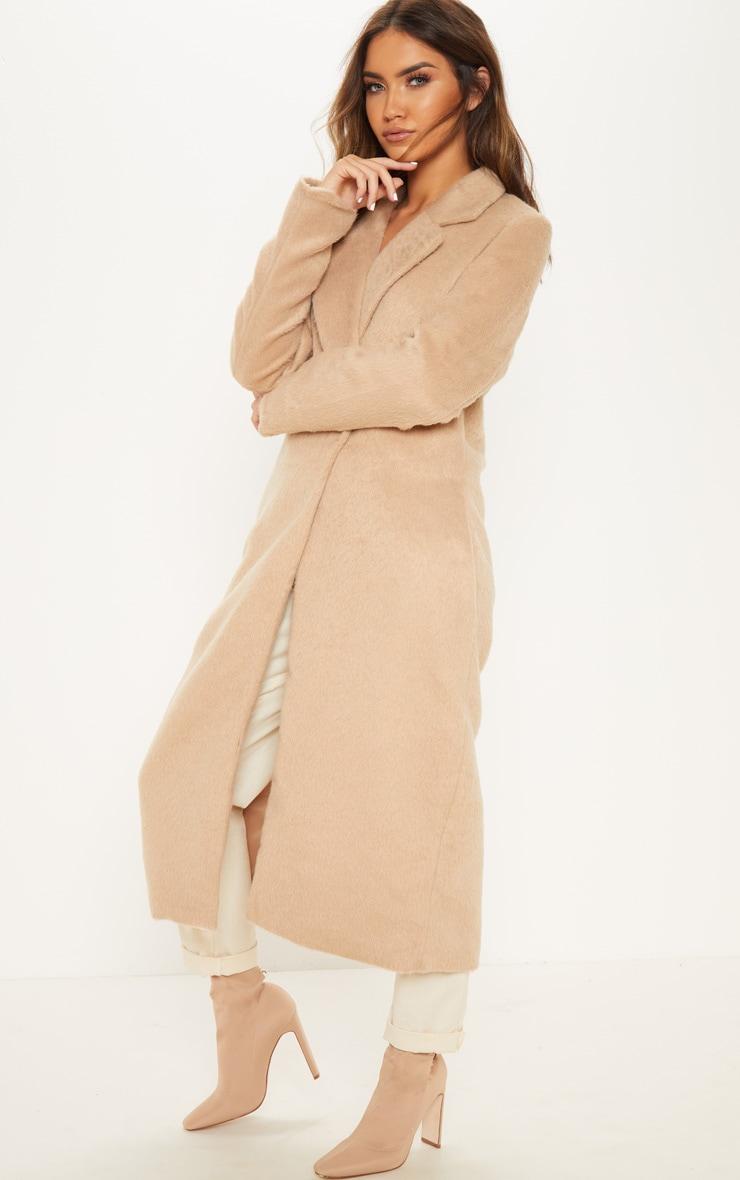 Camel Longline Coat 4