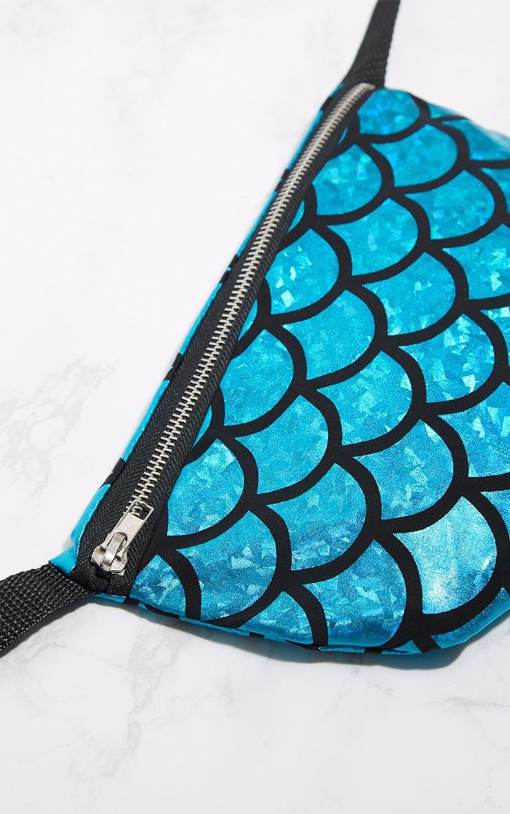Blue Mermaid Bum Bag 4