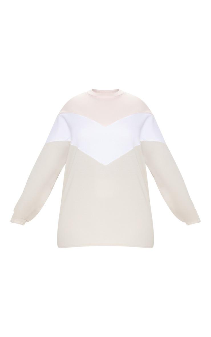 Plus Stone Chevron Sweater 3