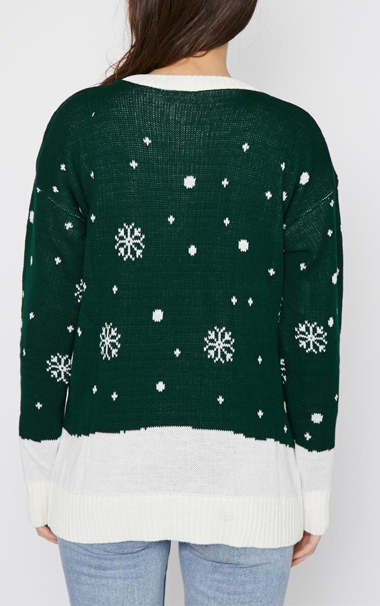 Jessi Green Santa Jumper  2