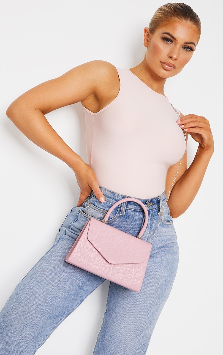 Pink Envelope Large Cross Body Bag 1