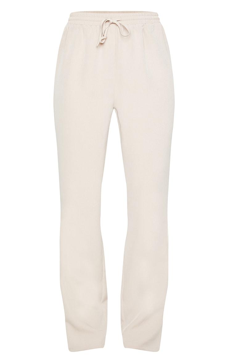 Sand Tie Front Wide Leg Pants 5