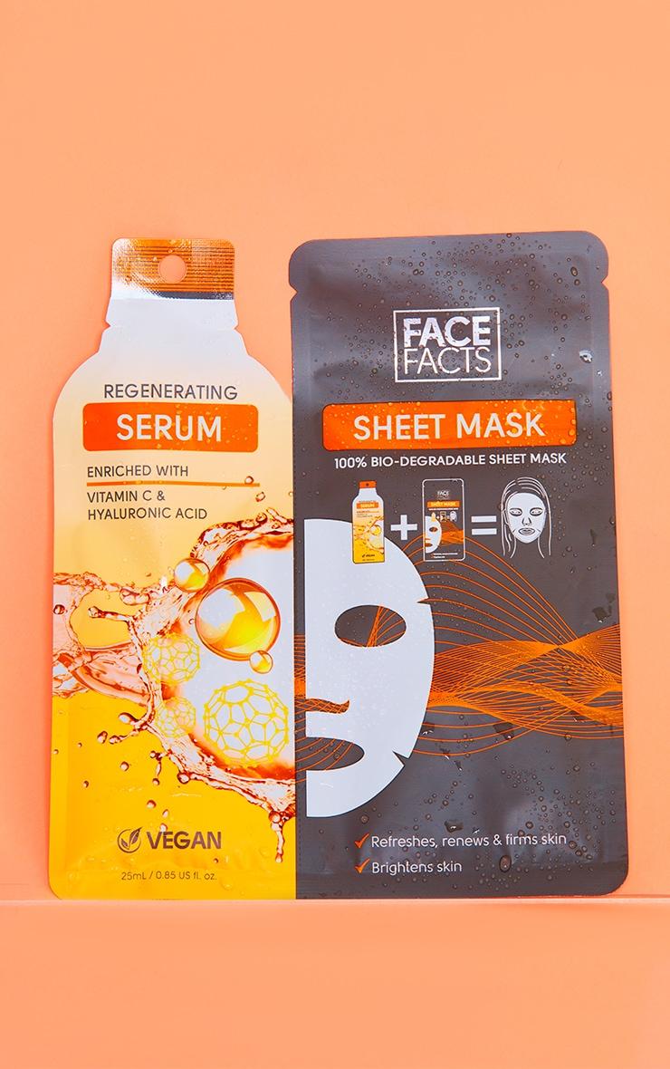 Face Facts Serum Sheet Mask Regenerating 1