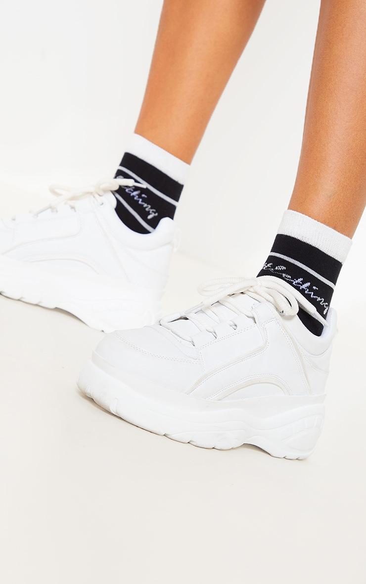 PRETTYLITTLETHING Black Socks 2