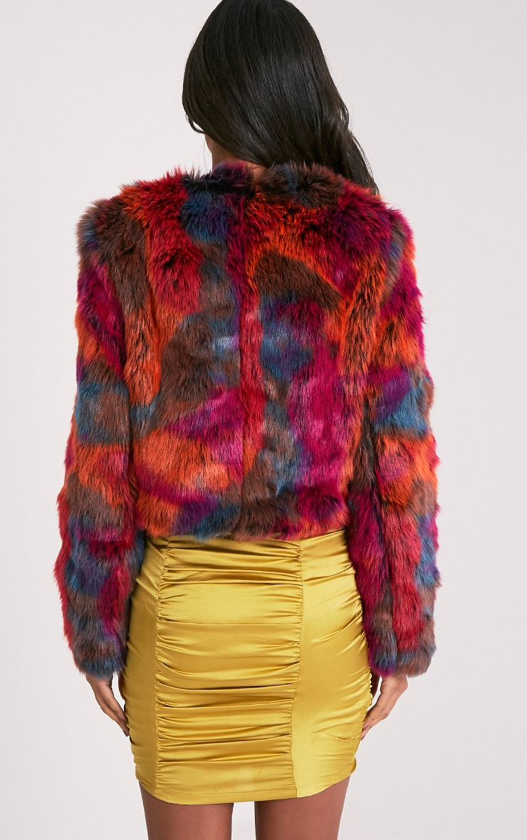 Zola Multi Faux Fur Jacket 3