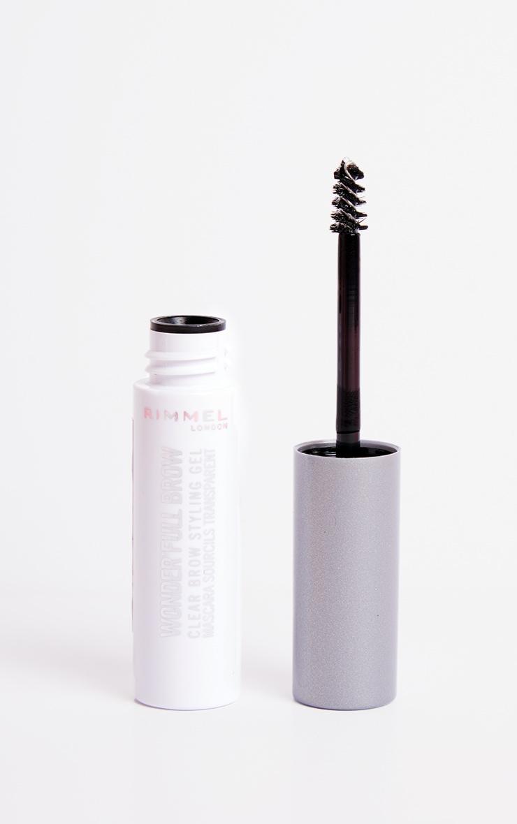 Rimmel Wonder'full 24HR Brow Mascara Clear 4