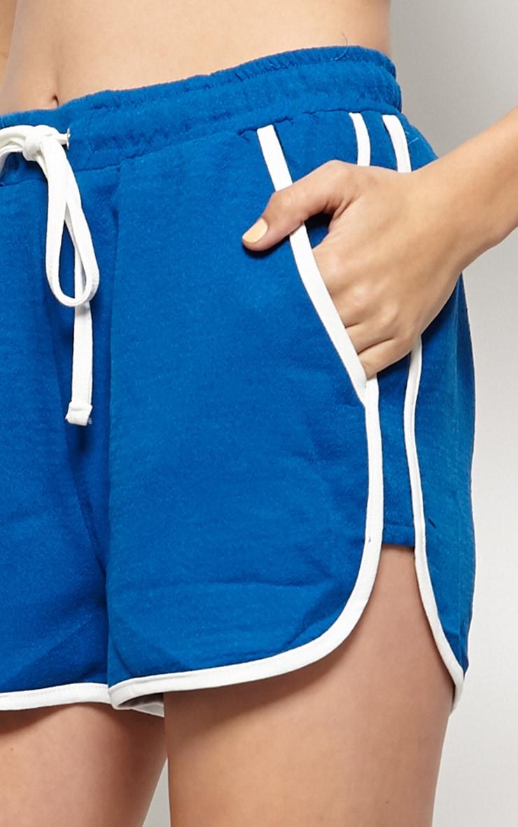Libby Blue Runner Shorts 5