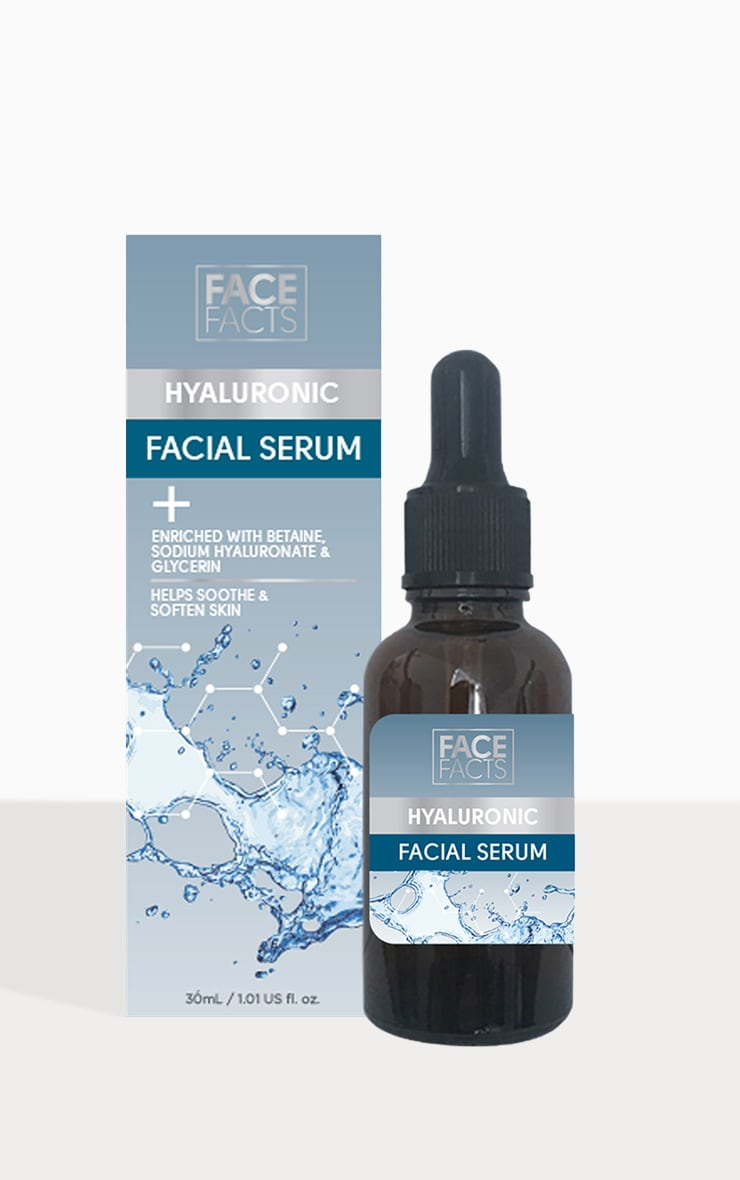 Face Facts Hyaluronic Face Serum 2
