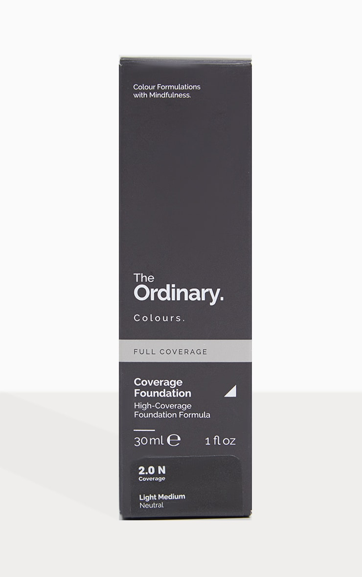 The Ordinary Coverage Foundation 2.0N Light Medium 2