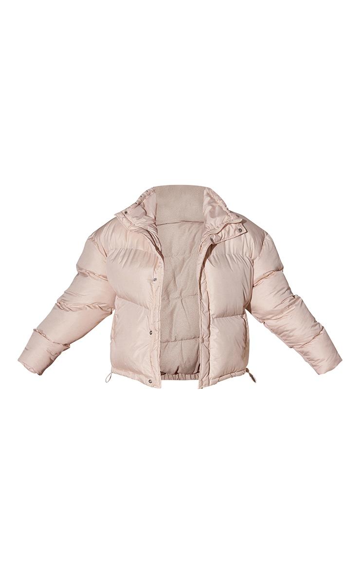 RENEW Plus Cream Toggle Detail Puffer Jacket 5