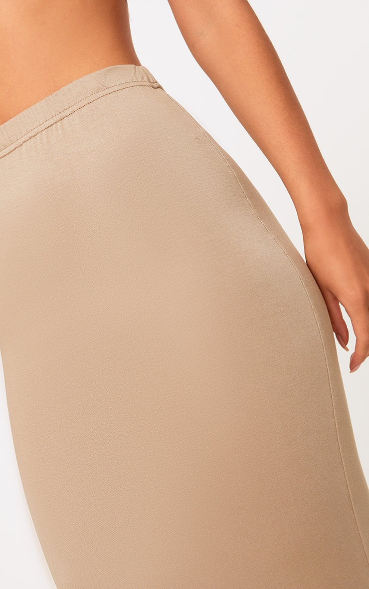 Basic Camel & Taupe Jersey Midaxi Skirt 2 Pack 3