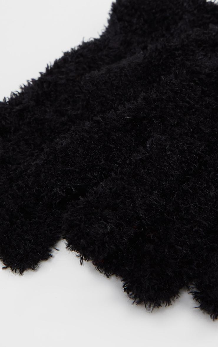 Black Super Soft Basic Glove 3