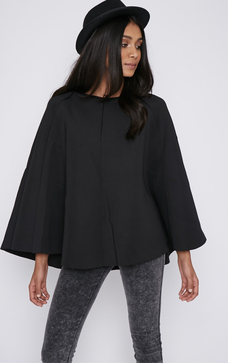 Dawn Black Cape  5