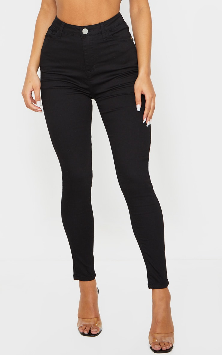 Black Bum Shape Jeans 2