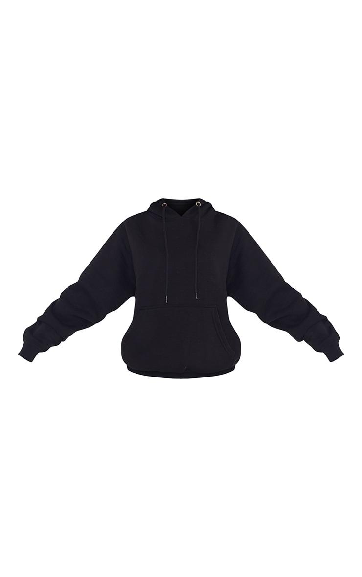 Petite Black Ultimate Oversized Hoodie 5