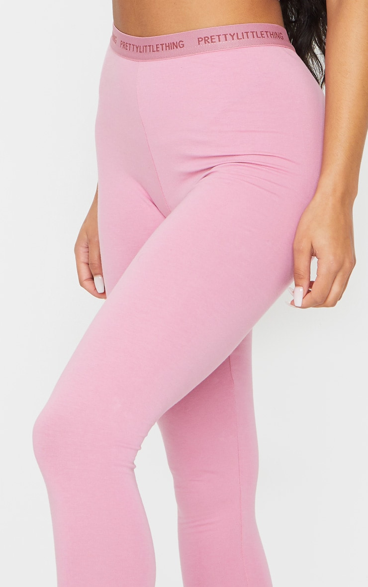 PRETTYLITTLETHING Dusty Pink Leggings 4