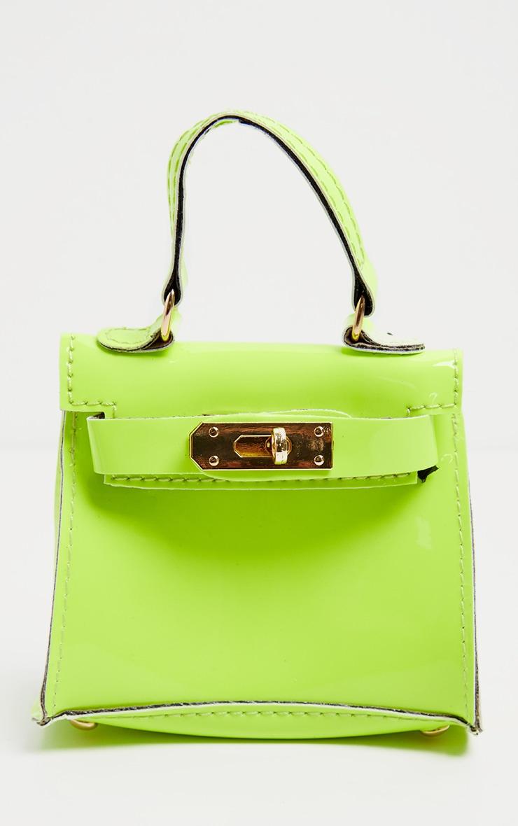 Neon Lime Micro Mini Bag 2