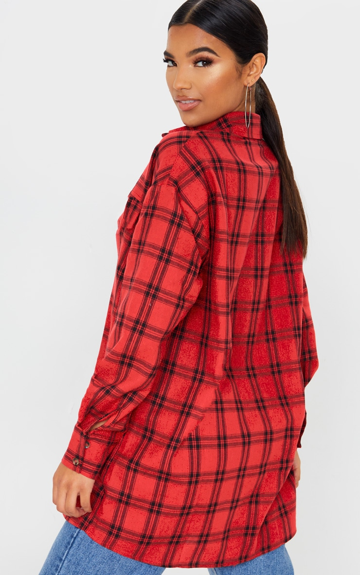 Red Checked Shirt 2