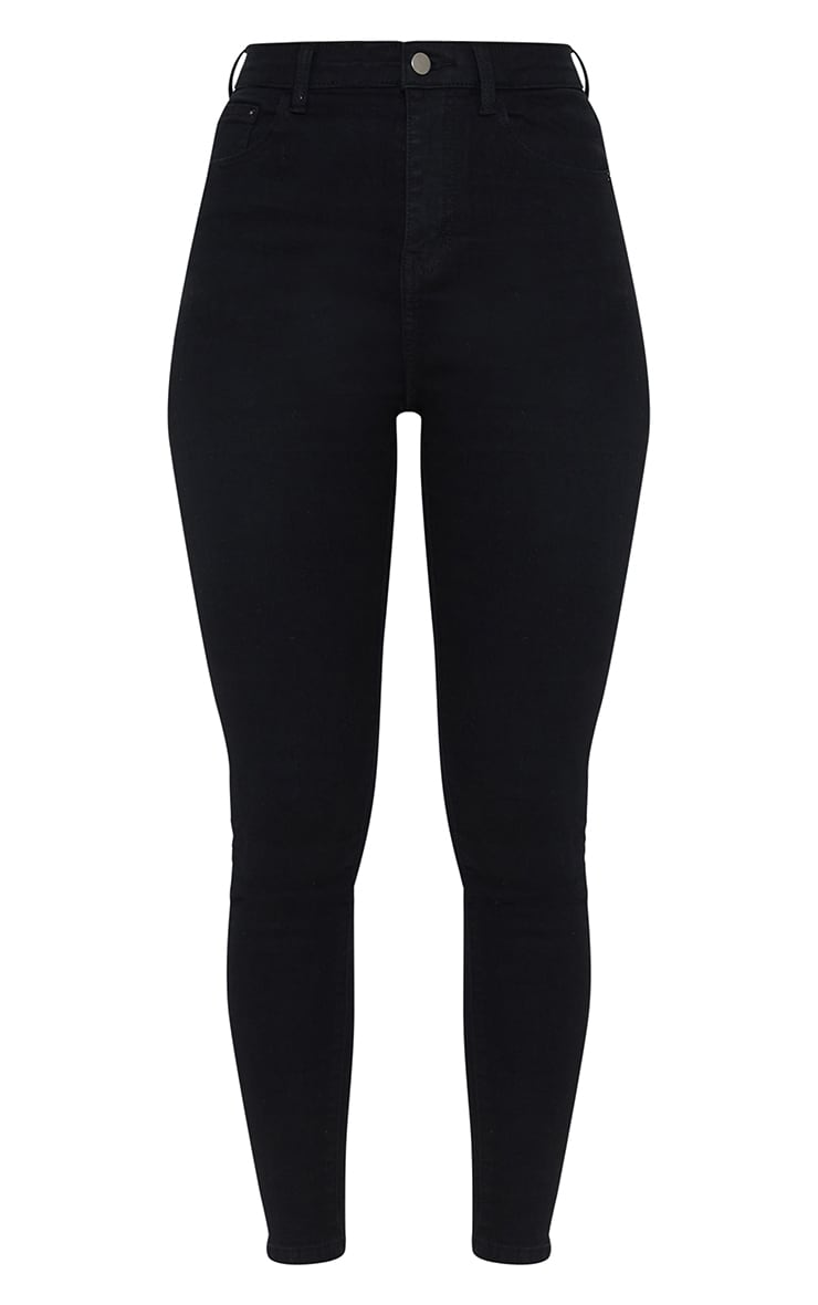 PRETTYLITTLETHING Black 5 Pocket Skinny Jean 5