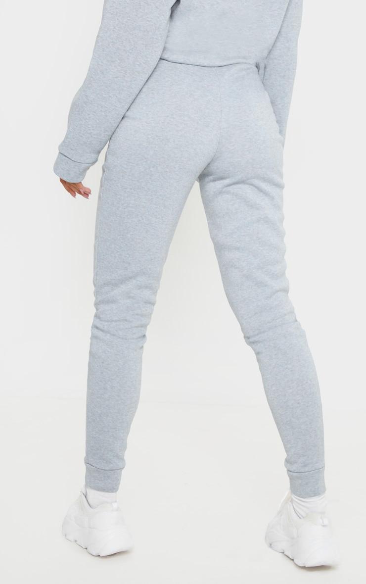 Grey Marl Fleece Joggers 4