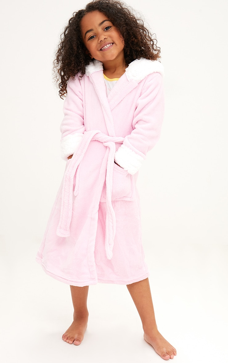Unicorn Pink Dressing Gown 3