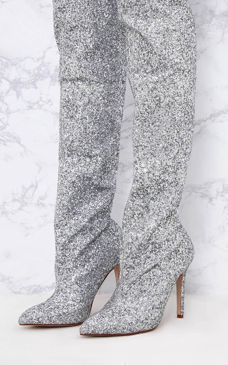 Sequined Sparkles Boot