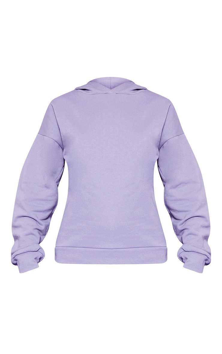 RECYCLED Violet Oversized Hoodie 3