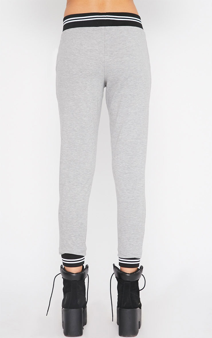 Scarlett Grey Sports Trim Leggings 2