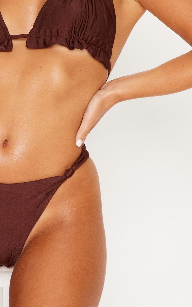 43475731ee Chocolate Knotted Bikini Bottom | Swimwear | PrettyLittleThing