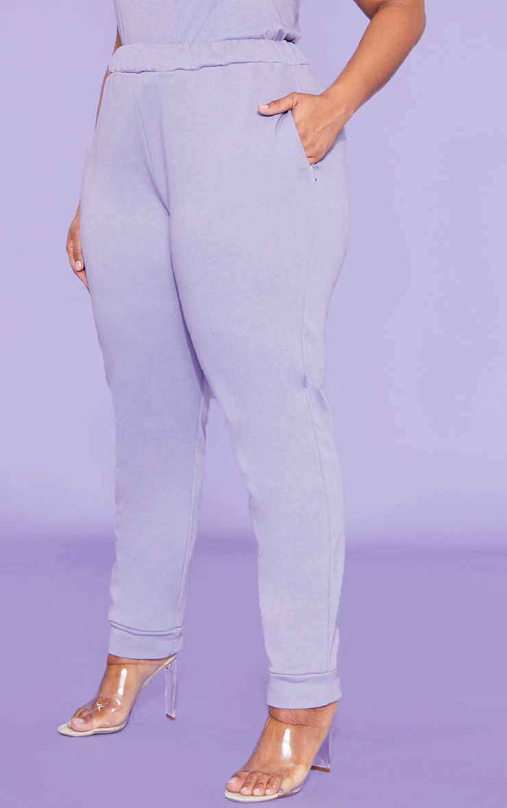 RECYCLED Plus Violet Jogger 5