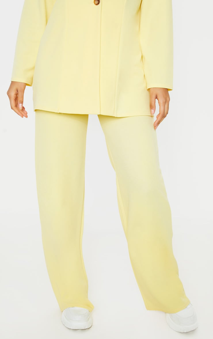 Lemon Wide Leg Pants 4
