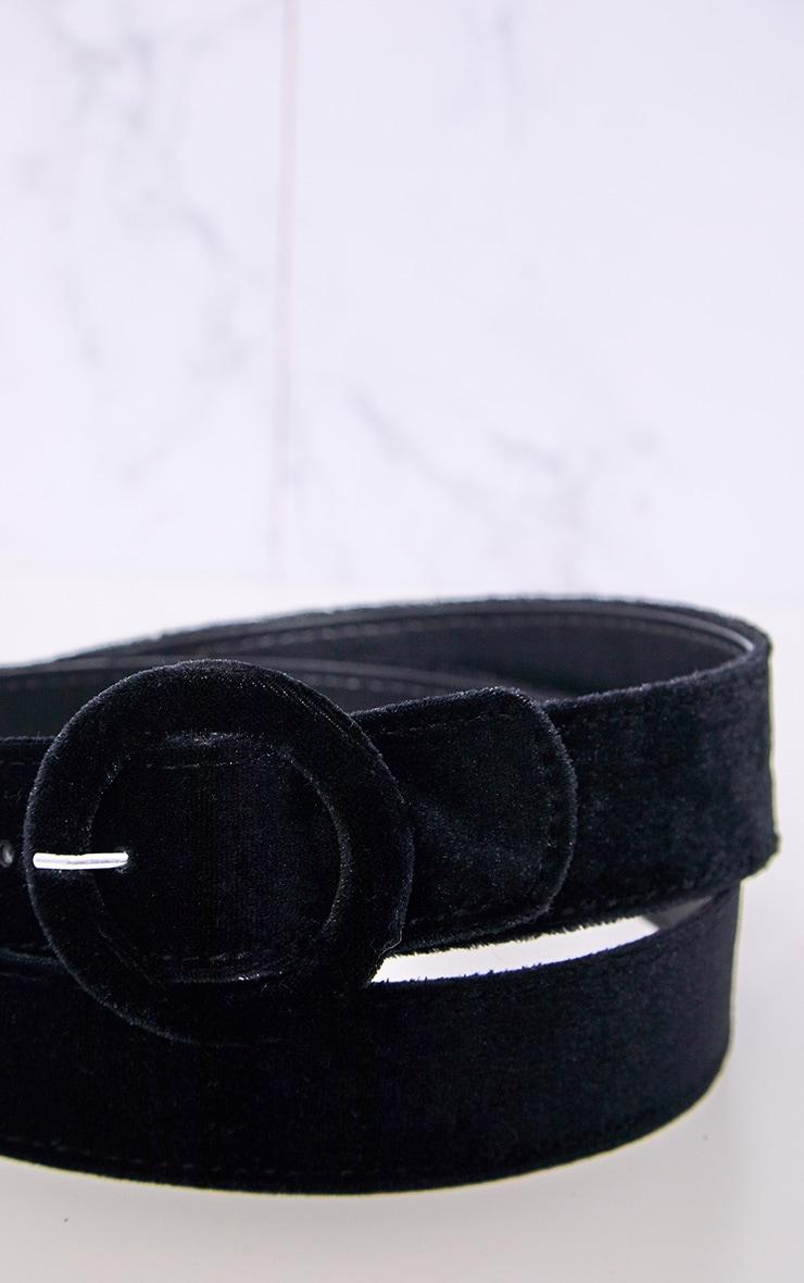 Black Velvet Belt 6