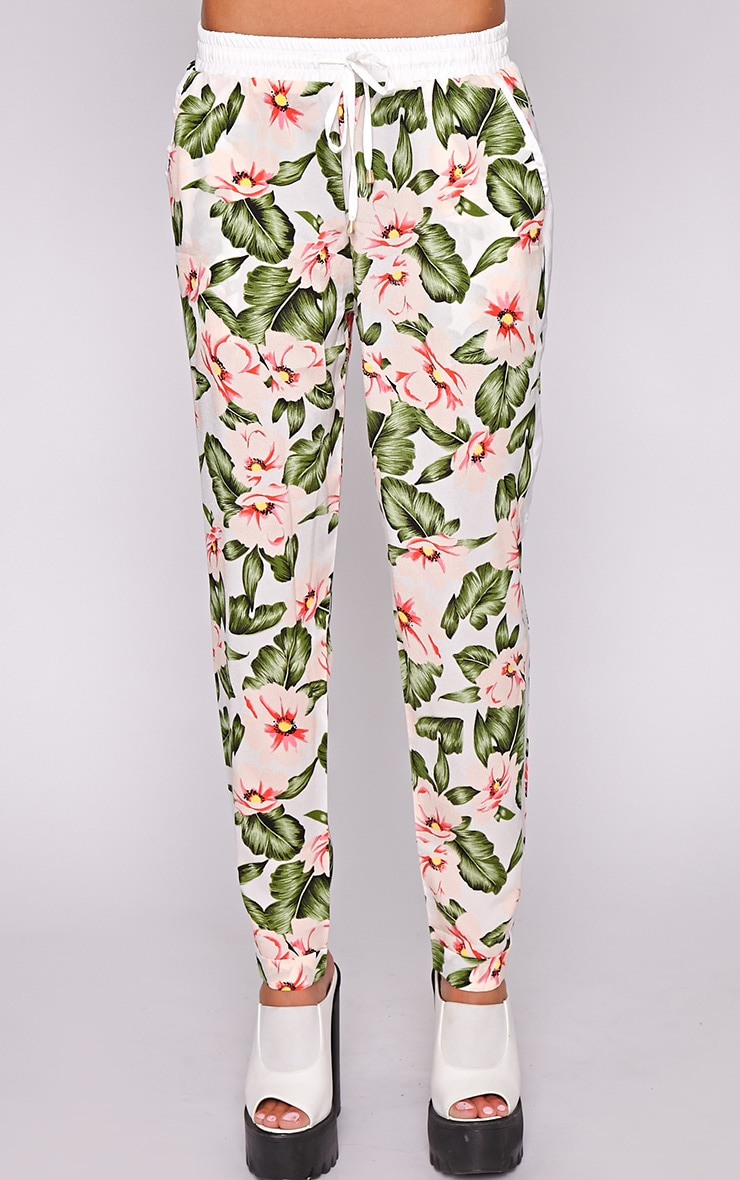 Thea Floral Drawstring Trouser 2