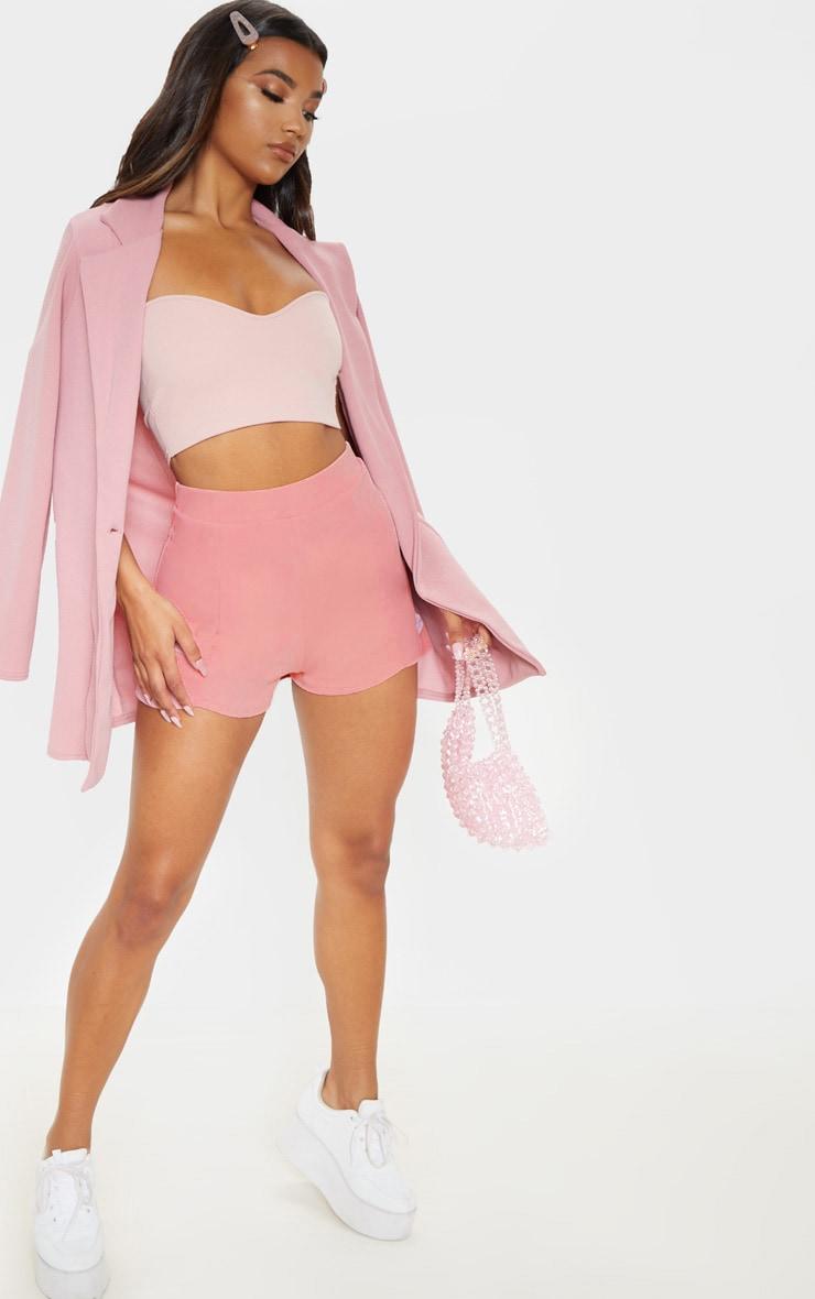 Pink Curve Front Short 5