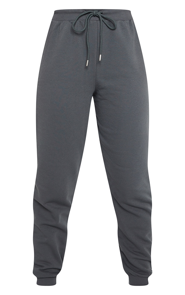 Charcoal Jersey Lounge Skinny Track Pants  5