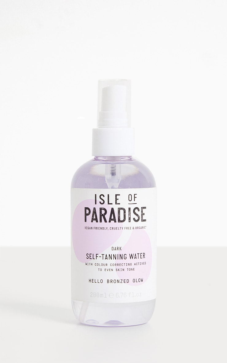 Isle of Paradise Dark Self Tanning Water 1