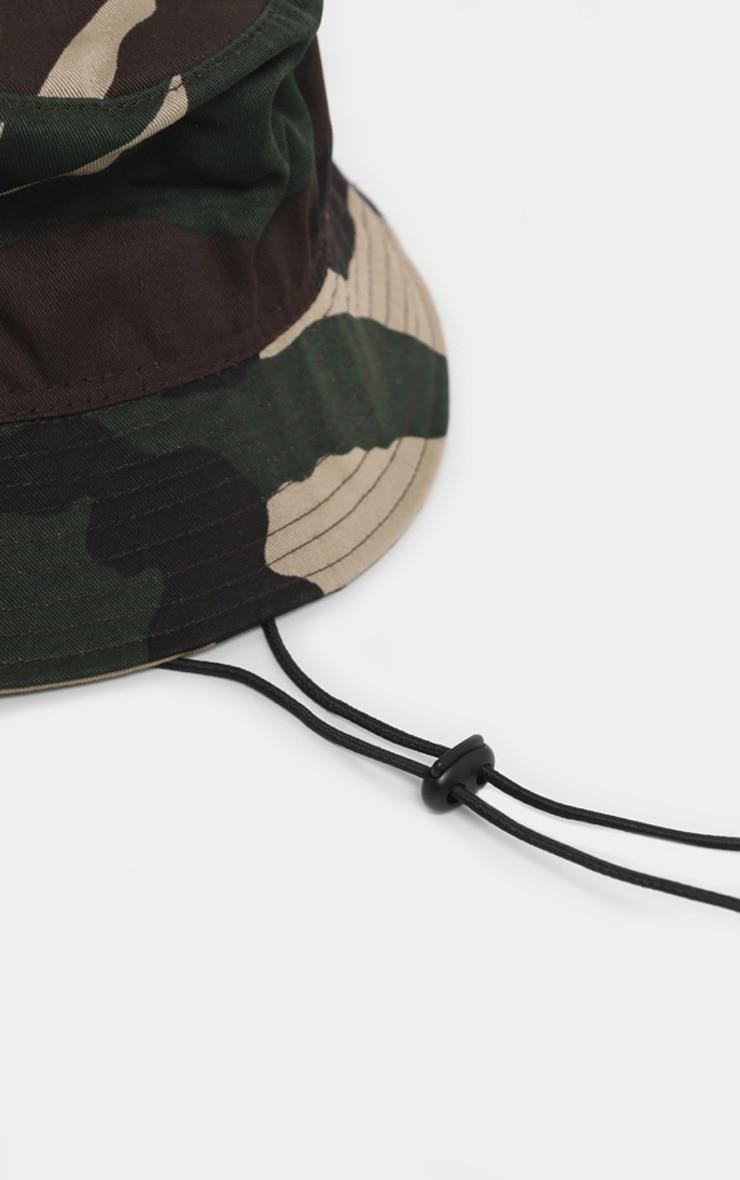 Khaki Camo Bucket Hat 4