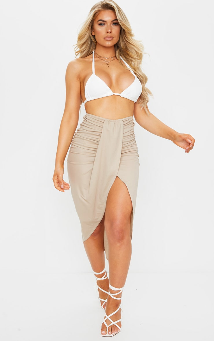 Stone Knot Front Wrapped Sarong 1
