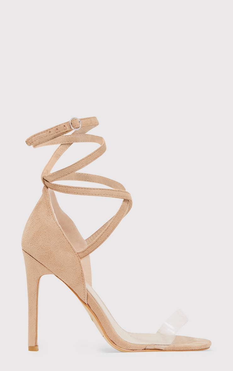 Renice Nude Strappy Heeled Sandals 2