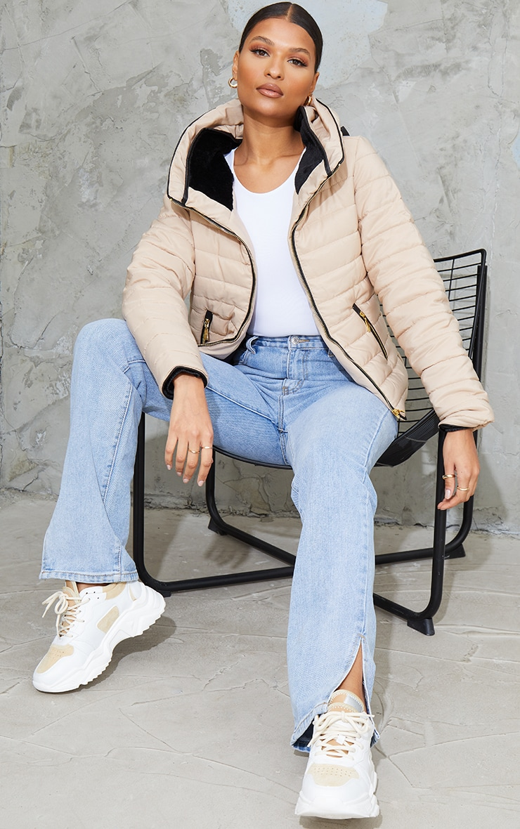 Mara Stone Puffer Jacket 3