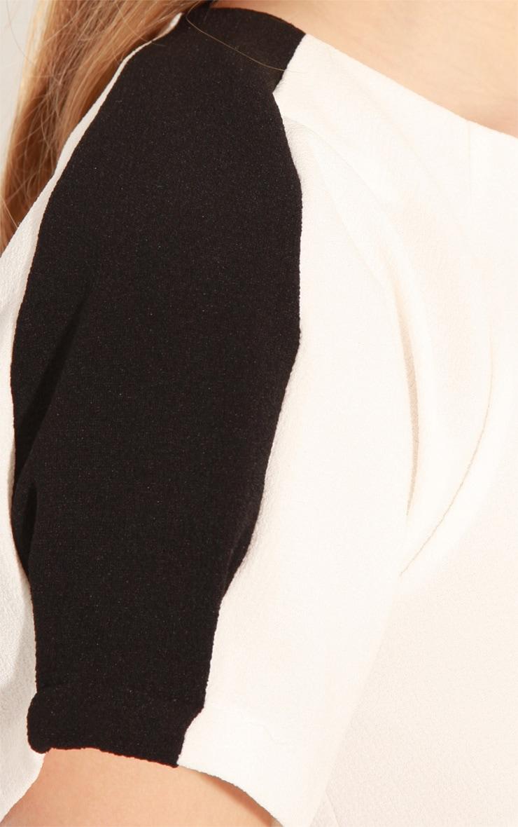 Kenzie Monochrome Shift Dress 5