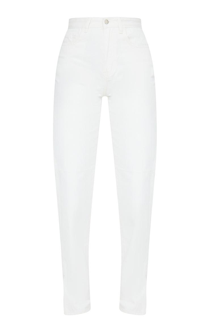 Off White Split Hem Jeans 5