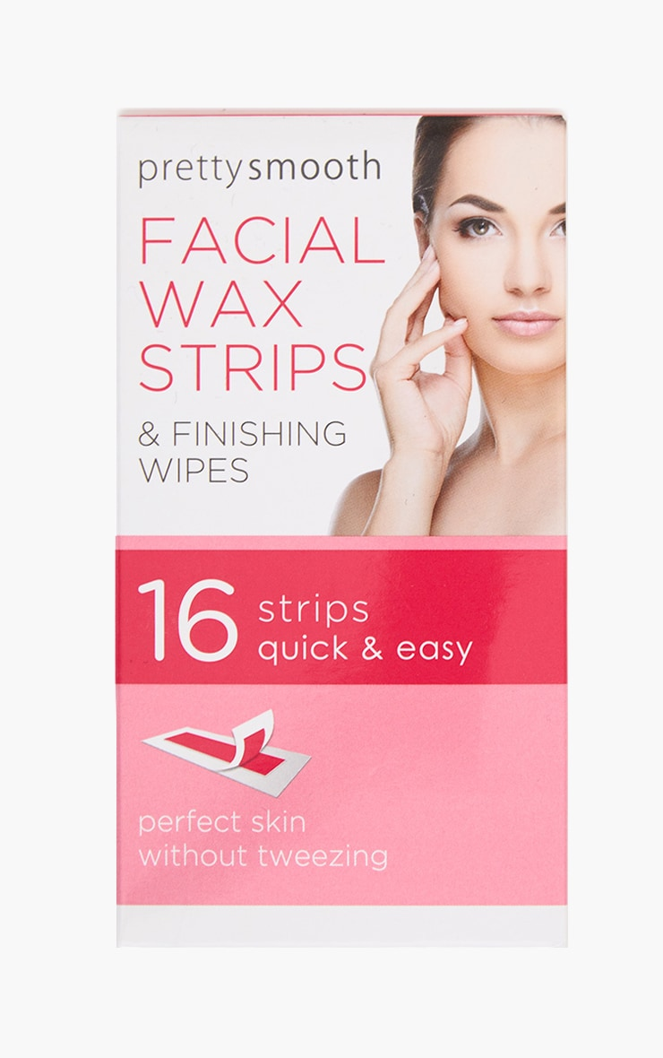 Multi Pack Facial Wax Strips With Wipes 1