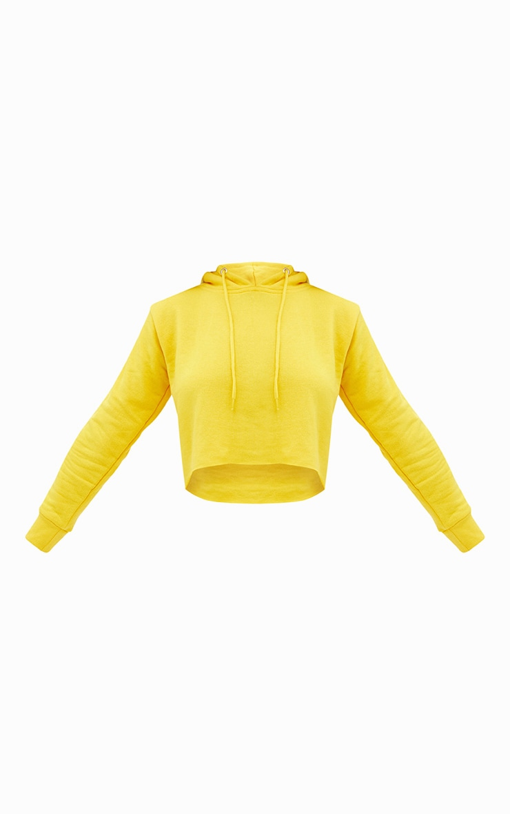 Yellow Side Stripe Hoodie 3