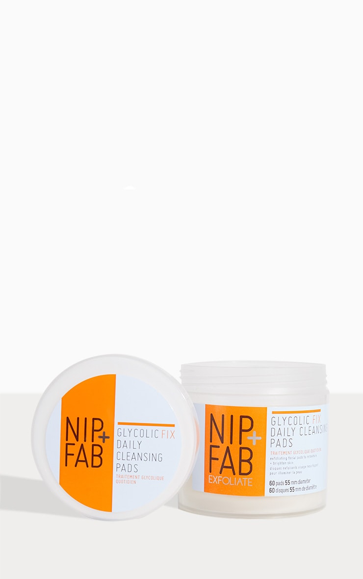 Nip + Fab Glycolic Fix Daily Cleansing Pads 1
